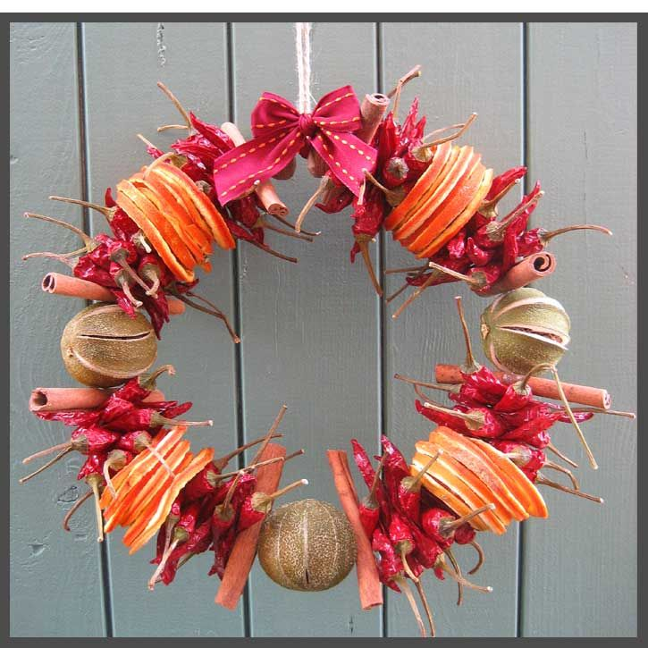 1000+ Images About Dried Fruit Xmas Decorations On