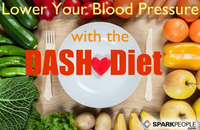 High Blood Pressure?  Have a DASH of Spark via @SparkPeople