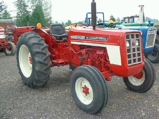 International Harvester 444 Tractor Parts : International harvester