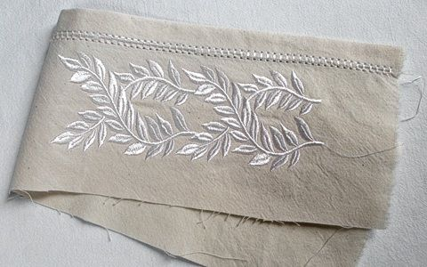 Ricami infiniti per nuove vecchie lenzuola | Gabriella Gai