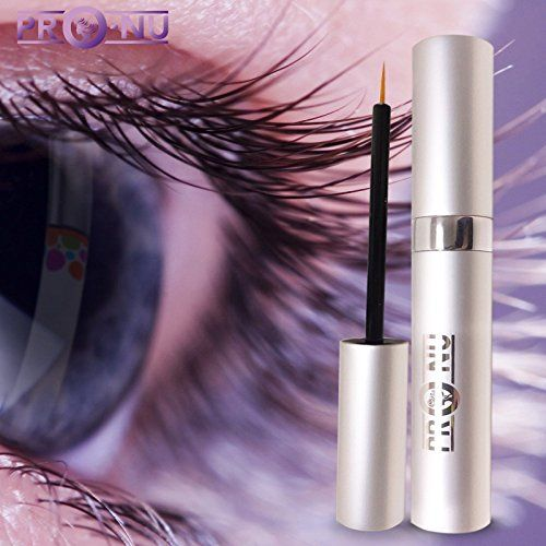 Pro-Nu New Eyelash Growth Serum 5ml - Made in USA - Eyelash Enhancer for Thicker, Fuller and Longer Eyelashes and Brows.  • DERMATOLOGIST and CLINICAL LAB TESTED; NON-IRRITATING, ALLERGY Tested Formula.PRO-NU eyelash grower is developed by a GMP Certified US lab. Uses Non-Prescriptive Actives. PRO-NU is the perfect alternative to false eyelash extensions and fake eyebrows  •PRO-NU Eyelash Growth Serum is GOOD for Eyelash And Eyebrow Enhancer. • Apply on regular bases to experience INCR...