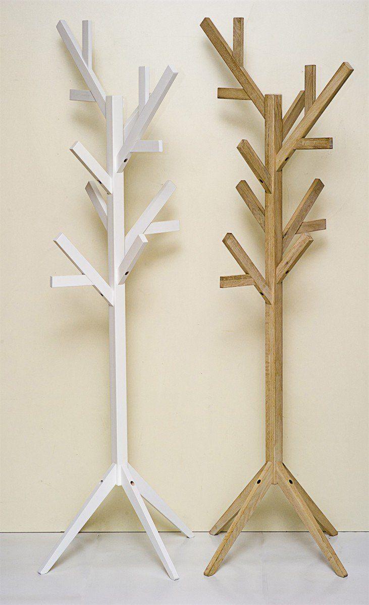 de madera Perchero roble Lámpara de pie MSVqUzGp
