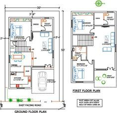 1000 Sq Ft Duplex Indian House Plans