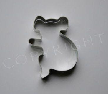 Koala Cookie Cutter http://rocklilywombats.com/shop/