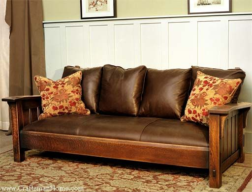 Arts And Crafts Style Sofa Thesofa