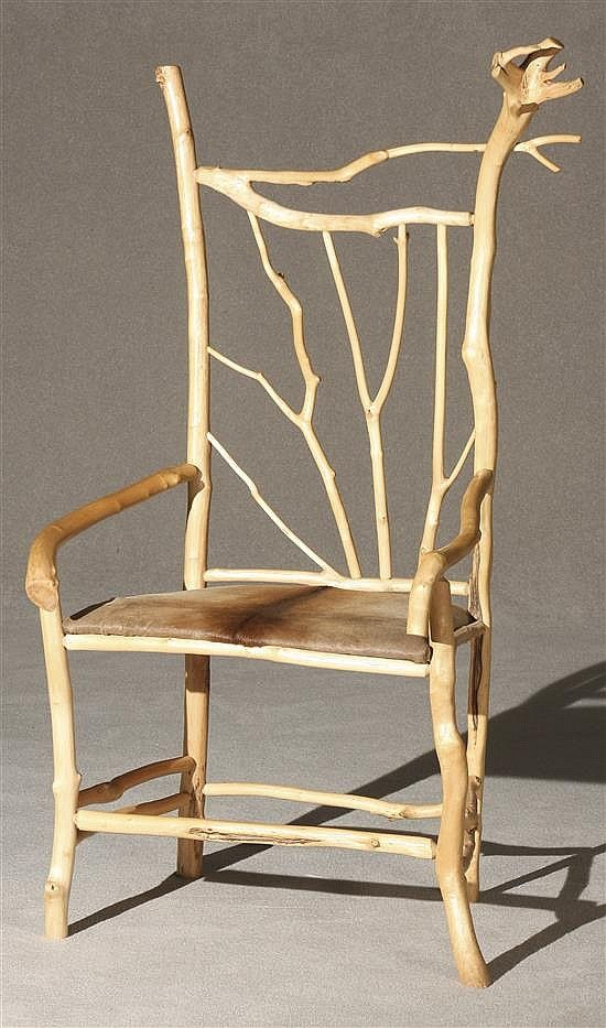 Daniel mack american b 1947 forest armchair cool and for Cool armchairs