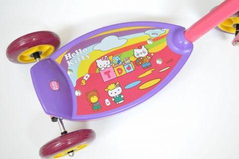 Hulajnoga Hello Kitty Sprawdzian YTT-06 HK Trzykołowa