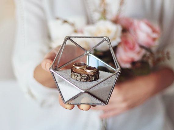 New Mini Geometric Terrarium Valentine39s Day Decor By