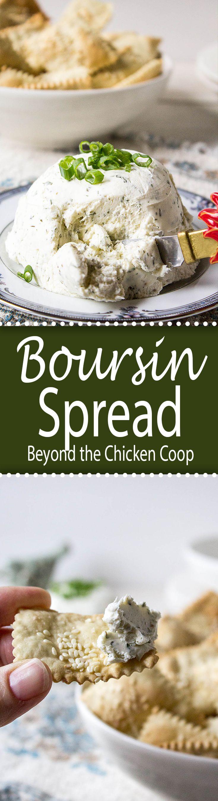 Homemade Boursin Cheese Spread