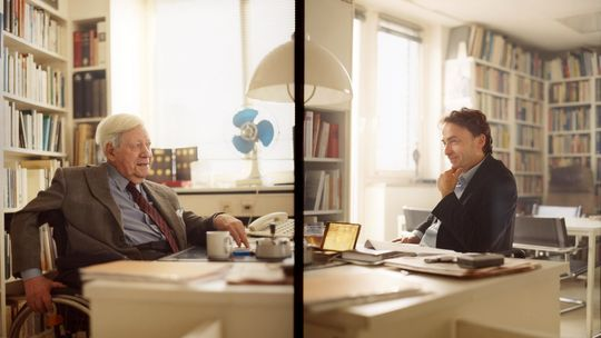 Helmut Schmidt und Giovanni di Lorenzo