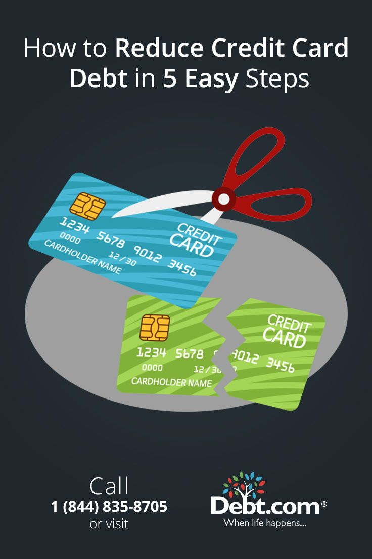 Discover The Best Way To Reduce Credit Card Debt In 5 Easy Steps Learn How To Reduce Credit Card Deb Reduce Credit Card Debt What Is Credit Score Credit Score