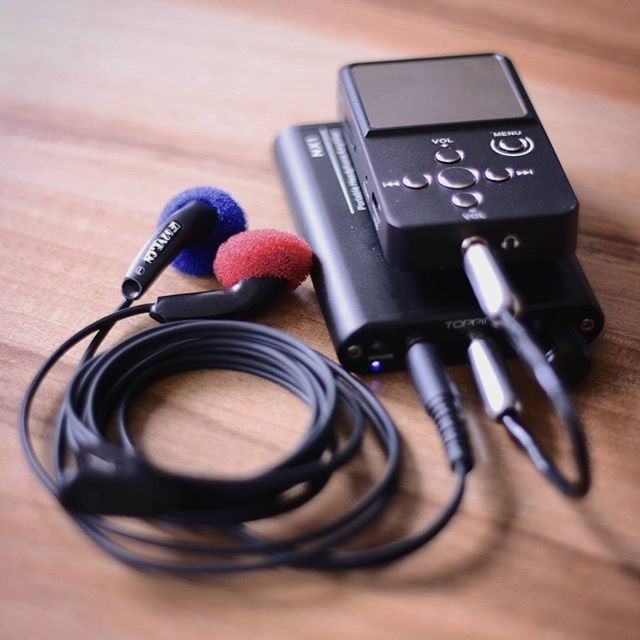 I supposed you already know it is Xduoo X2, but can you guess which headphone amplifier I am using? Shoot me your answer.