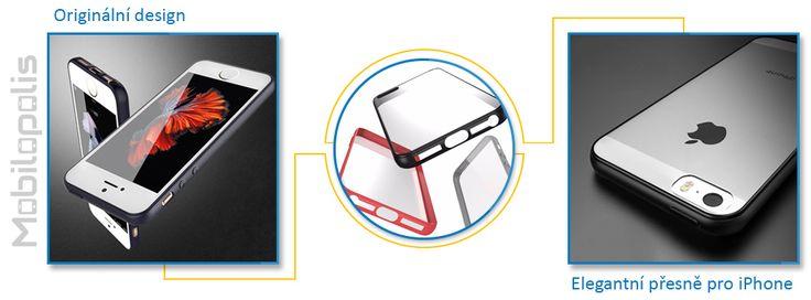 Primární vlastnosti krytu iRaptor HD Clear pro iPhone 5, 5s a SE