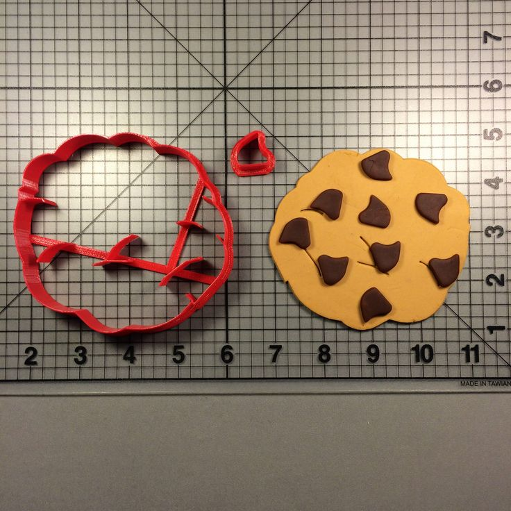 Chocolate Chip Cookie 100 Cookie Cutter Set