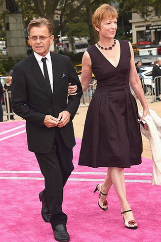 Mikhail Baryshnikov and Lisa Rinehart attend the New York ...