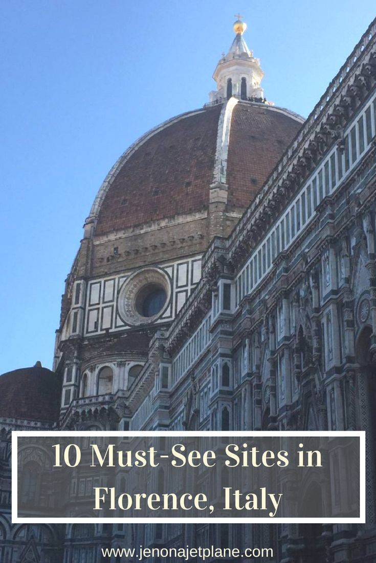10 must-see attractions in Florence, Italy. All the best things to do in Firenze, from the David Statute to the Duomo. Don't visit Italy's most famous city without crossing these sites off your list!