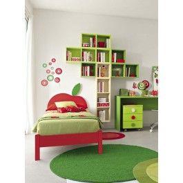 Libreria design componibile per #cameretta composizione ad #albero - art 138