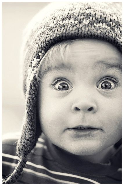 photography project: photographs of children's expressions (flip page to see what they are responding to / what they said about it / thier dreams etc.