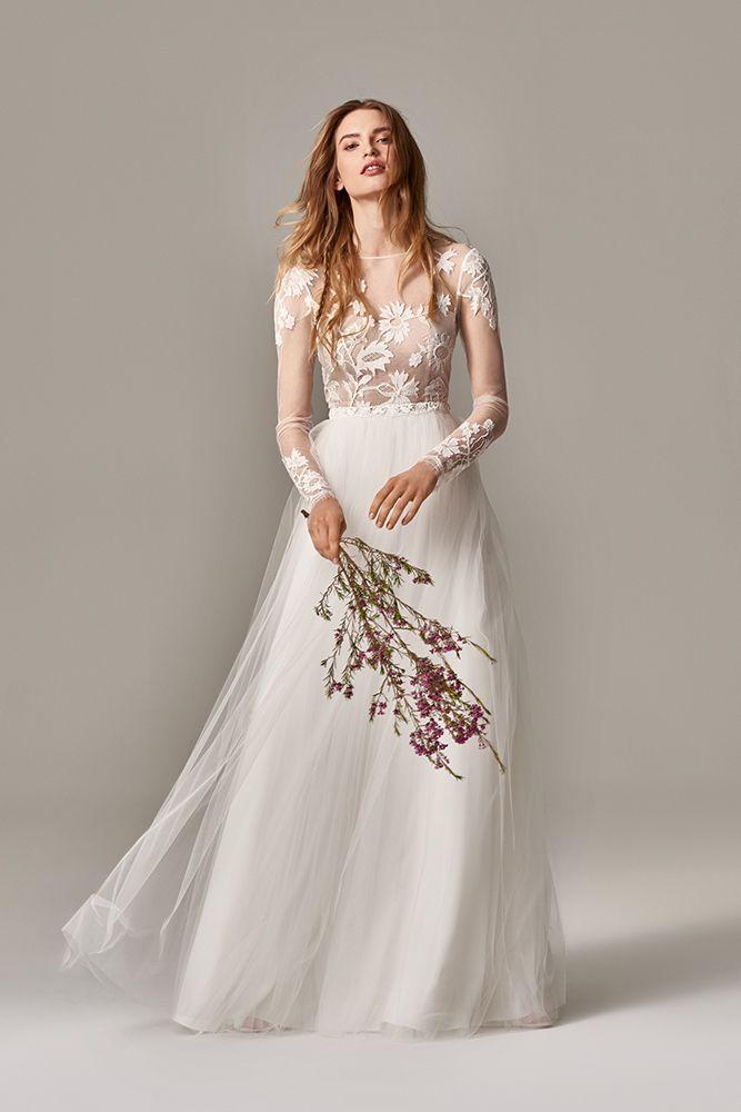 6032ca6b9753f Robe de mariée Anna Kara Sean chez Plume Paris