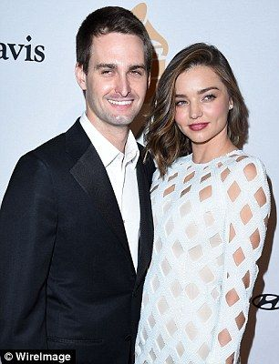 Miranda Kerr reveals her and Evan Spiegel are 'close' with Orlando Bloom and Katy Perry  | Daily Mail Online