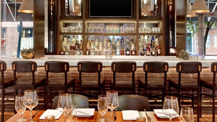 You saved to Commercial Work  While indulging at Le Méridien New Orleans - LMNO Restaurant, be sure to admire the bar   •   •   •   check out our website for more information: carrstone.com   IG: carrstoneandtile   FB: Carr Stone and Tile