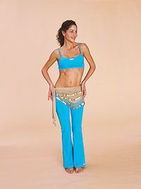 My favorite way to burn off steam #bellydancing #workout