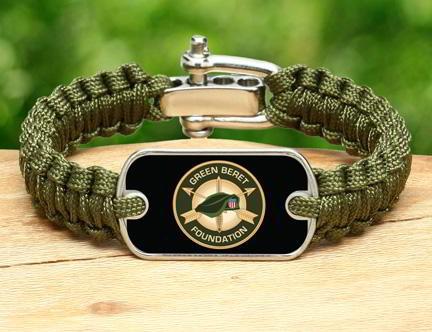 Green Beret Foundation Survival Straps