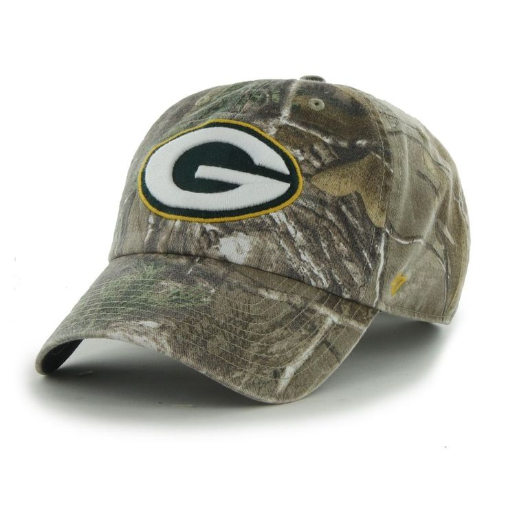 #NFL '47 Big Buck Clean Up Camo Adjustable Hat Green Bay #Packers F-bgbck12gws-ap from $28.36