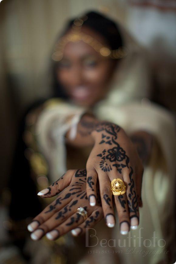 African Wedding Inspiration | East African bridal henna