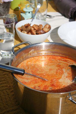 Nydelig kyllingsuppe med et hint av India!
