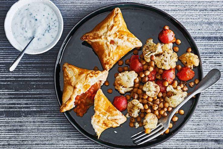 Indiase samosa's met linzencurry - Recept - Allerhande