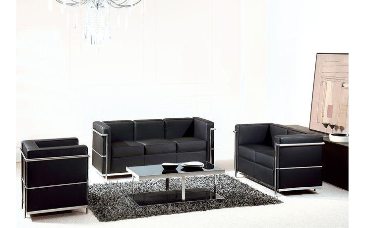 Replica Le Corbusier Lounge Suite – Premium Italian Leather