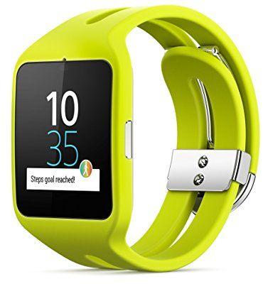 ¡Chollo! Reloj Sony Smartwatch 3 Sport de color verde por 99 euros. ¡Oferta del día!