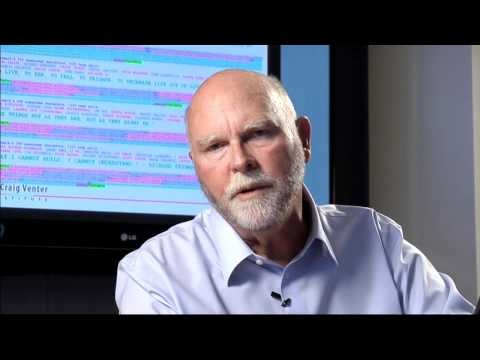 Craig Venter - Synthetic Life, TED X NASA - sequenced DNA virus of 5000 base pairs (genome) - injected into e. coli, recognized synthetic DNA as real - software (genetic code) building its own hardware (viral particle) - a living, self-replicating cell.