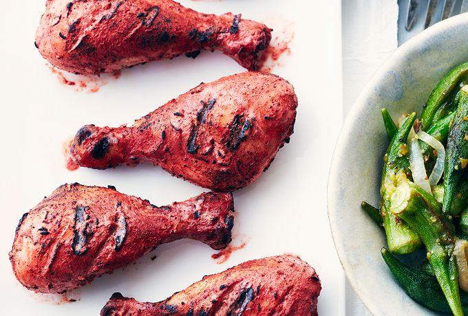 Recipes - Grilled Tandoori Chicken Drumsticks » Chicken.ca #SchoolYourChicken