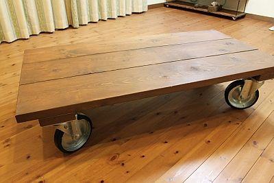 画像 : 簡単DIY!ローテーブルの作り方(脚 キャスター すのこ ブログ 手作り 自作 リメイク - NAVER まとめ