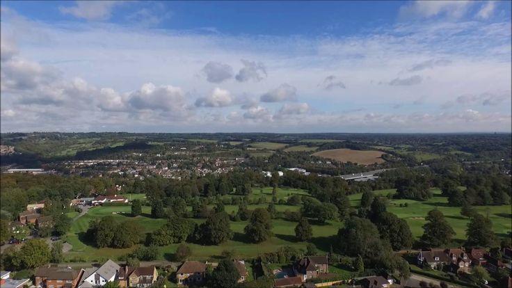Flackwell Heath from above with DJI Phantom - YouTube