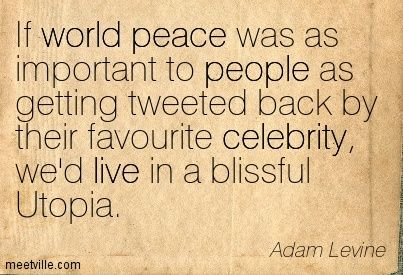 Quotes Fans World Peace Quotes By Famous People