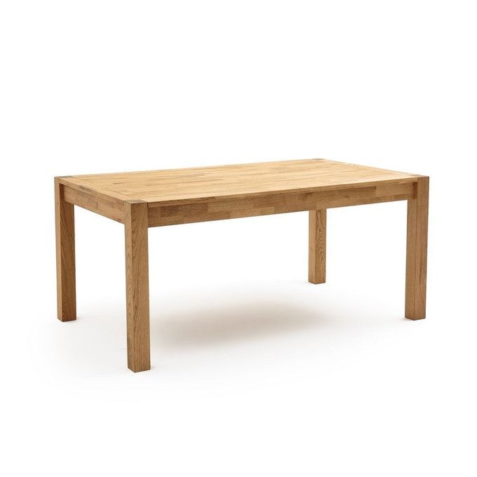Table A Manger Chene Massif 6 12 Couverts Adelita Table A