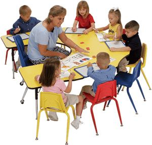 Kay Twelve.com   Furniture That Fosters Cooperative Learning · Preschool  TablesDiscount School ...