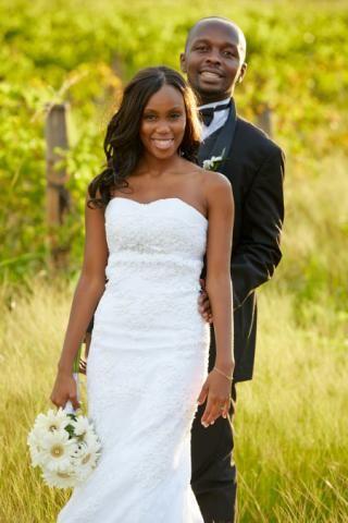 Real Brides and Natalia Trisolino designer gowns <3  www.nataliatrisolino.com