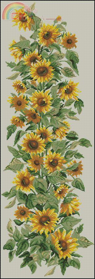 [New]Gobelinek GC 7018-Sunflowers Composition -
