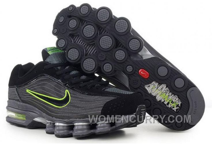 https://www.womencurry.com/mens-nike-air-max-shox-r4-shoes-black-dark-grey-green-for-sale.html MEN'S NIKE AIR MAX SHOX R4 SHOES BLACK/DARK GREY/GREEN FOR SALE Only $85.41 , Free Shipping!
