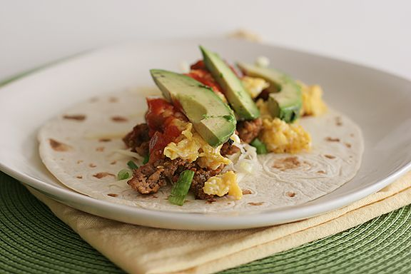 Cookbook of the Month Recipe - Breakfast Burritos - Taste and Tell