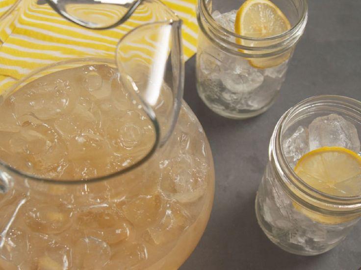 Honey-Ginger Lemonade recipe from Nancy Fuller via Food Network