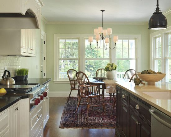Inspiring eat in kitchen tables design traditional for Eating kitchen ideas