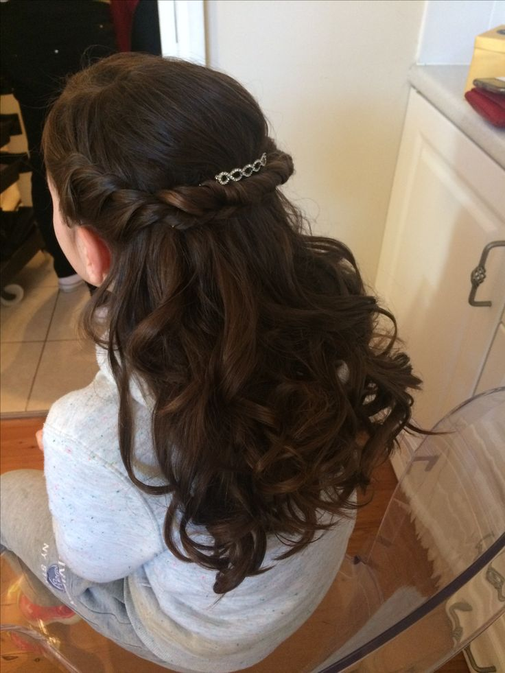 Hair by Jeanette  Soft curls with a twist