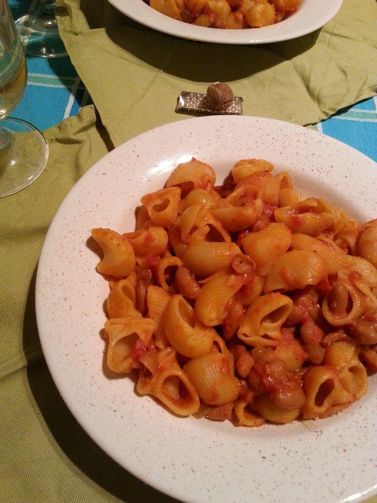 #pasta #fagioli #ricettebio #bio #grani #farro #cereali #Girolomoni #legumi
