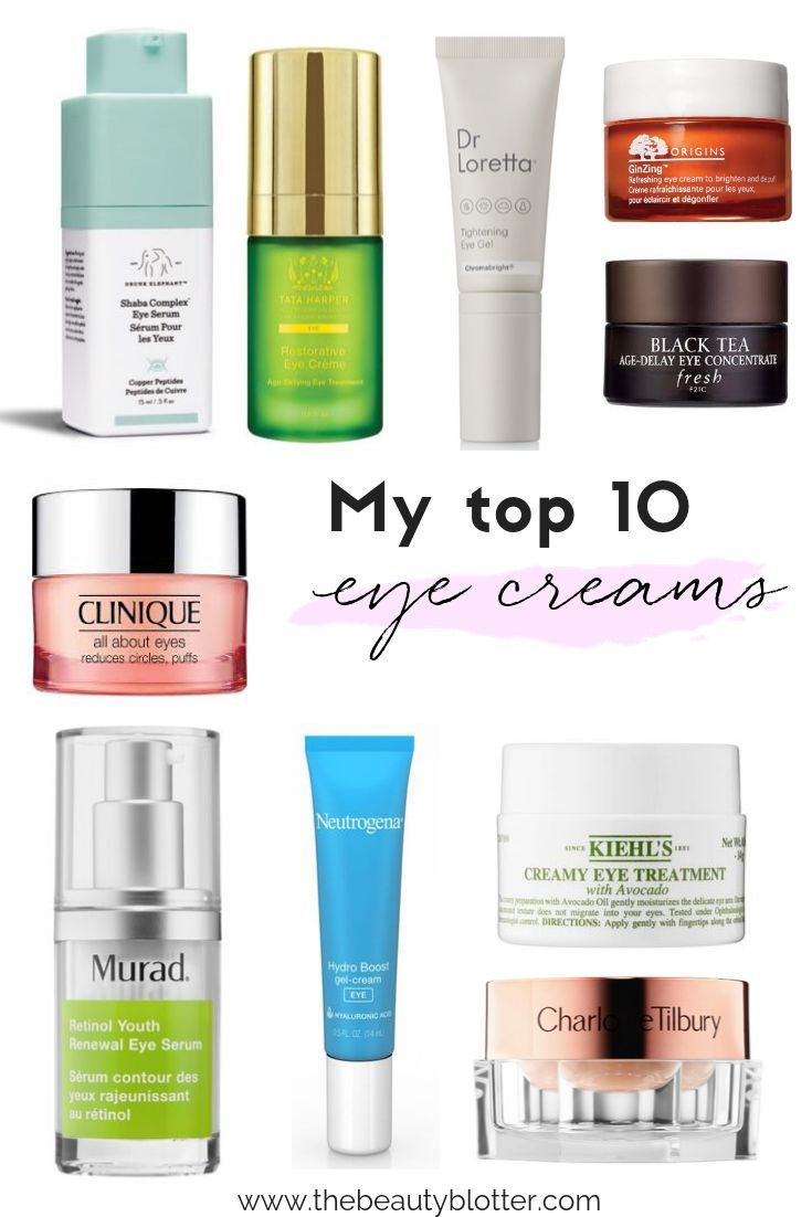 My Top 10 Favorite Eye Creams You Should Try Eye Cream For Dark