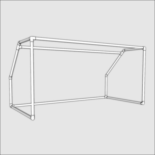 Youth/Practice Soccer Goal PVC - Build Your Own | FORMUFIT